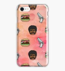 Pulp Fiction Big Kahuna Burger Pattern iPhone Case/Skin