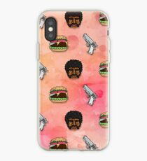 Pulp Fiction Big Kahuna Burger Pattern iPhone Case