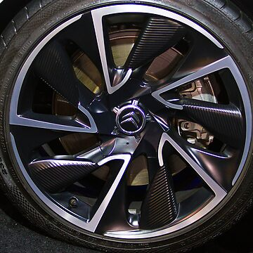 Citroën DS5 Hybrid Wheel [ Print & iPad / iPod / iPhone Case ] by mauriciosantana