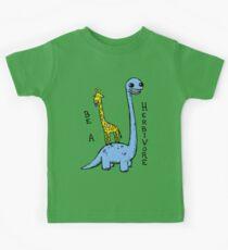 be a herbivore Kinder T-Shirt
