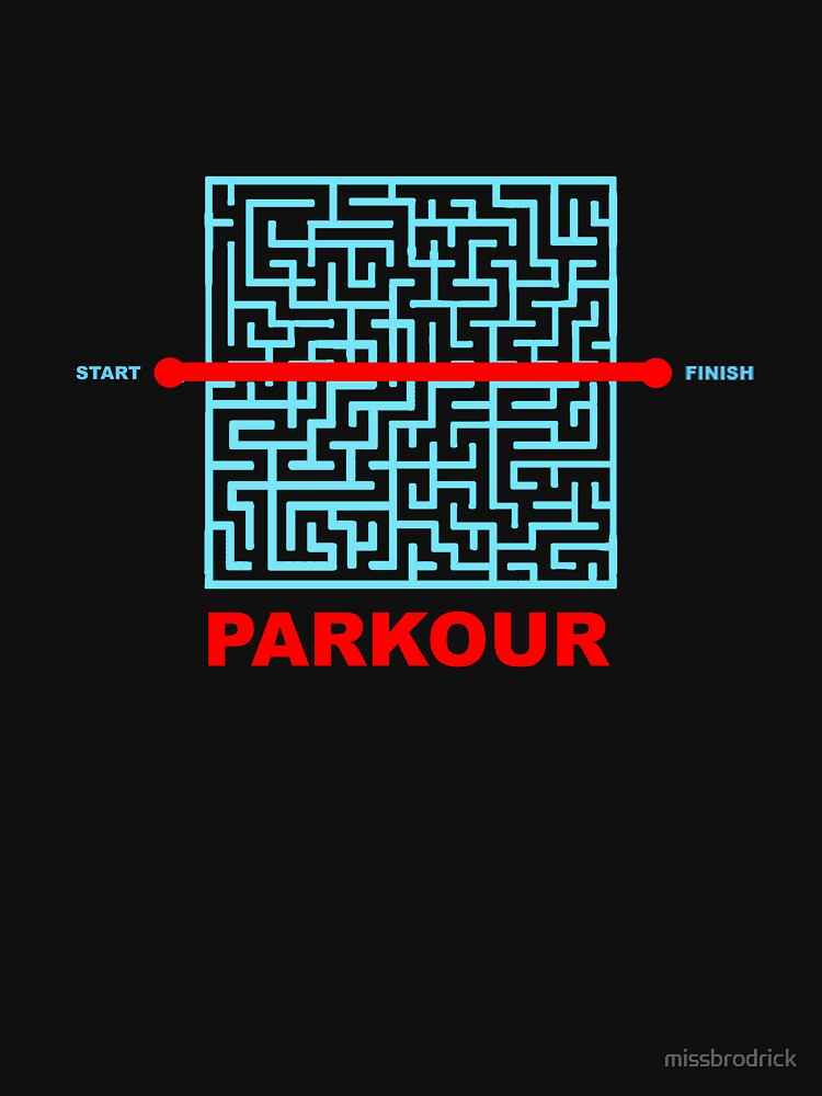 Parkour Maze by missbrodrick