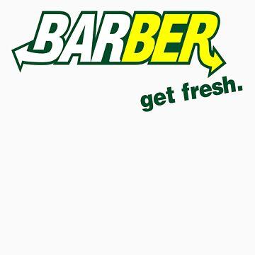 "Barber Get Fresh  ""Subway"" by Pitbull88"