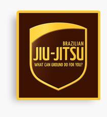 Jiu-Jitsu Canvas Print