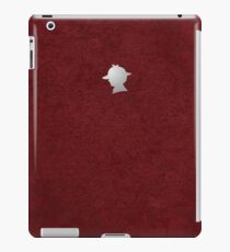 Sherlock Silhouette iPad/iPhone Case - Red iPad Case/Skin