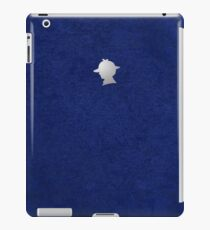 Sherlock Silhouette iPad/iPhone Case - Blue iPad Case/Skin