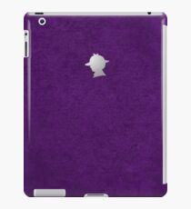 Sherlock Silhouette iPad/iPhone Case - Purple iPad Case/Skin