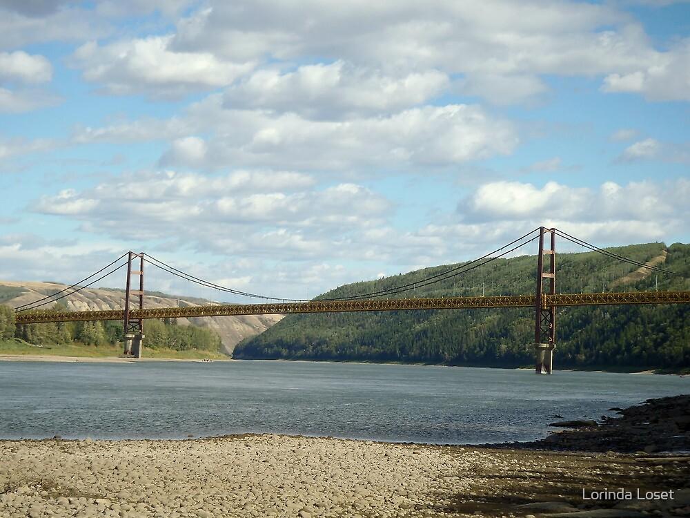 Dunvegan Bridge by Lorinda Loset