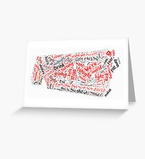 Burn It To The Ground Greeting Card