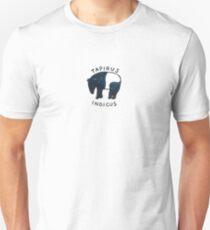 Malayan Tapir (Tapirus indicus) Unisex T-Shirt