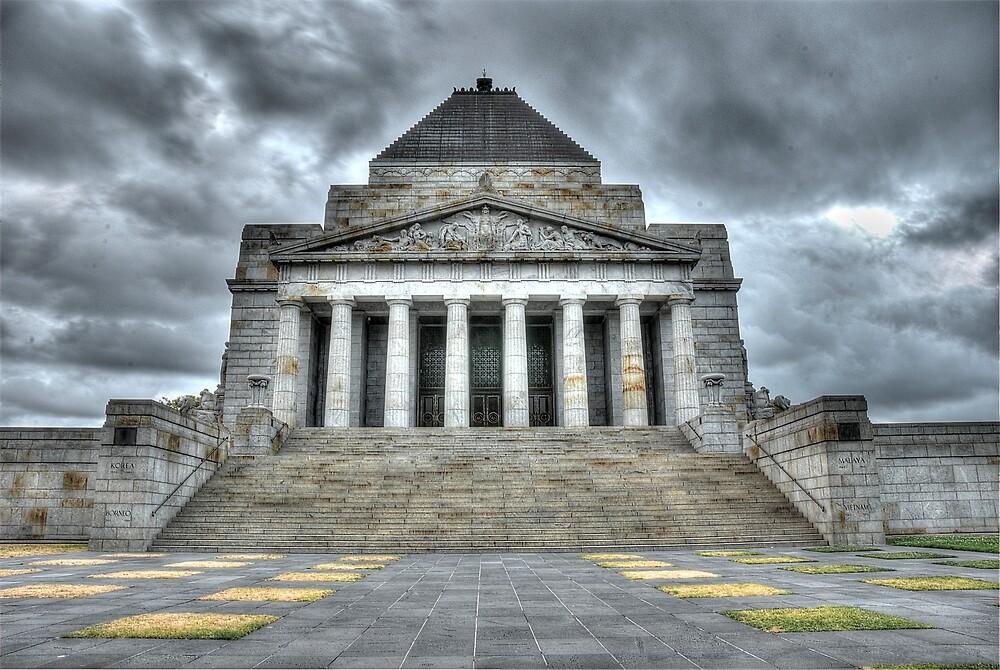 Melbourne War Memorial HDR by seyuk
