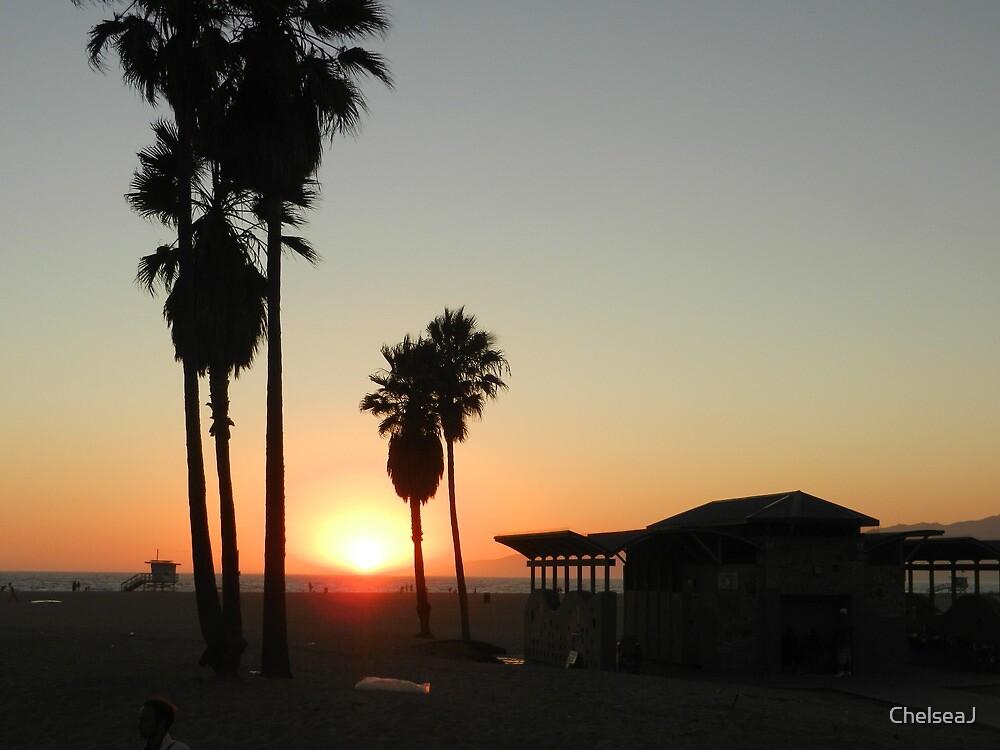 Venice Beach Sunset by ChelseaJ