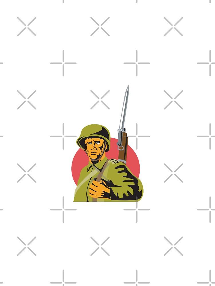 World War Two American Soldier by patrimonio