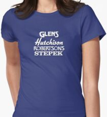 Glens, Hutchison, Robertson and Stepek Womens Fitted T-Shirt