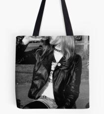 Film Noir Punk Tote Bag