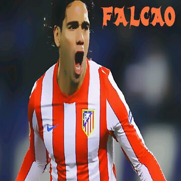 "Radamel Falcao ""El Tigre"" T-shirt by DABC"