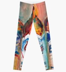 Miller Lite, Coors Licht, Busch Light - Bier Kunstdruck - Leggings