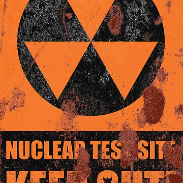Nuclear Test Site(Rusty) by RoleyShop