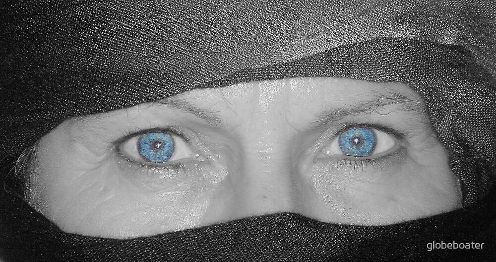 Piercing Blue by globeboater
