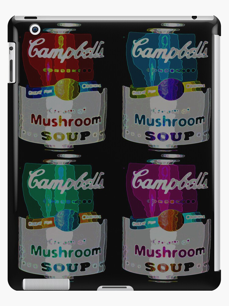 Campbell's Soup iPad case by Andrew Robinson
