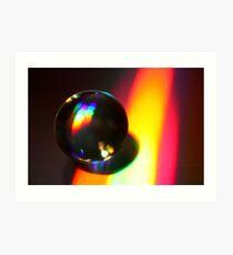 Macro Sphere 1 Art Print