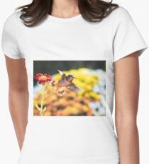 Backlit Women's Fitted T-Shirt