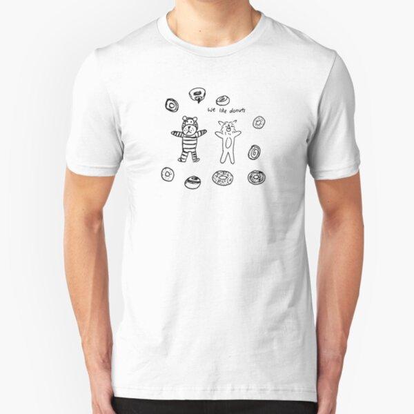 We Like Donuts Slim Fit T-Shirt