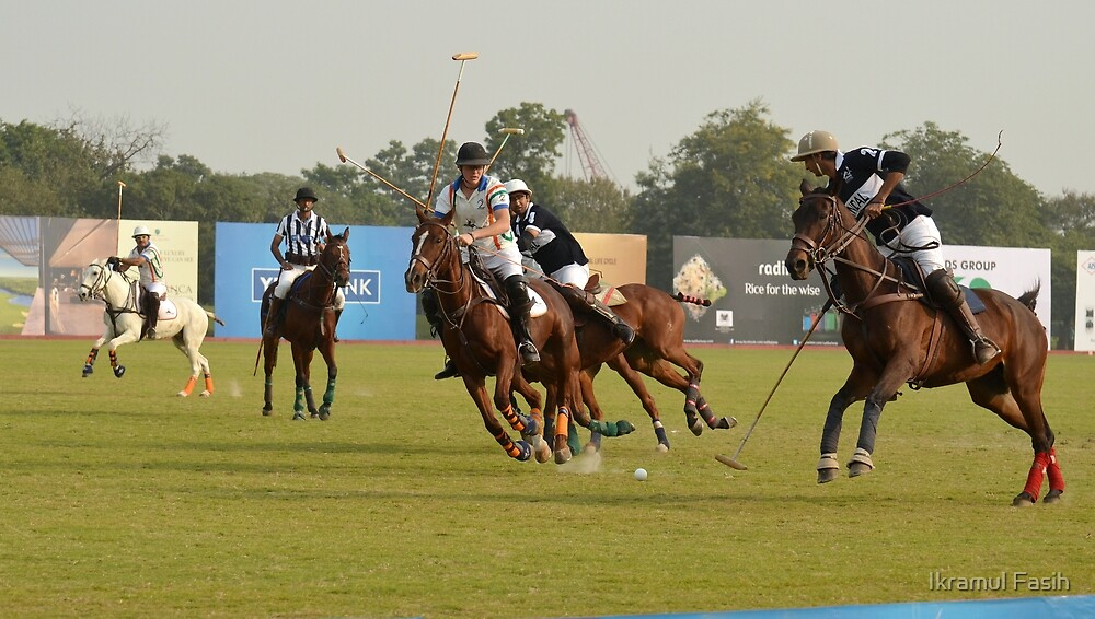 A Polo match by Ikramul Fasih