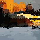 Zorge St., 6 p.m. by Nikolay Semyonov