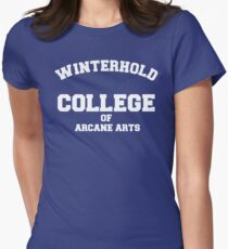 Winterhold College Women's Fitted T-Shirt