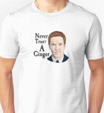 "Homeland - Nick Brody ""Ginger"" Shirt Unisex T-Shirt"