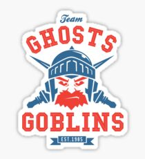 Team Ghost & Goblins Sticker
