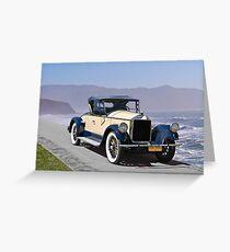 1925 Pierce-Arrow 80 Runabout Greeting Card