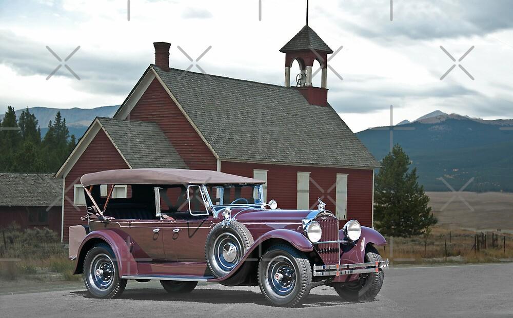 1929 Packard 640 Touring Car by DaveKoontz
