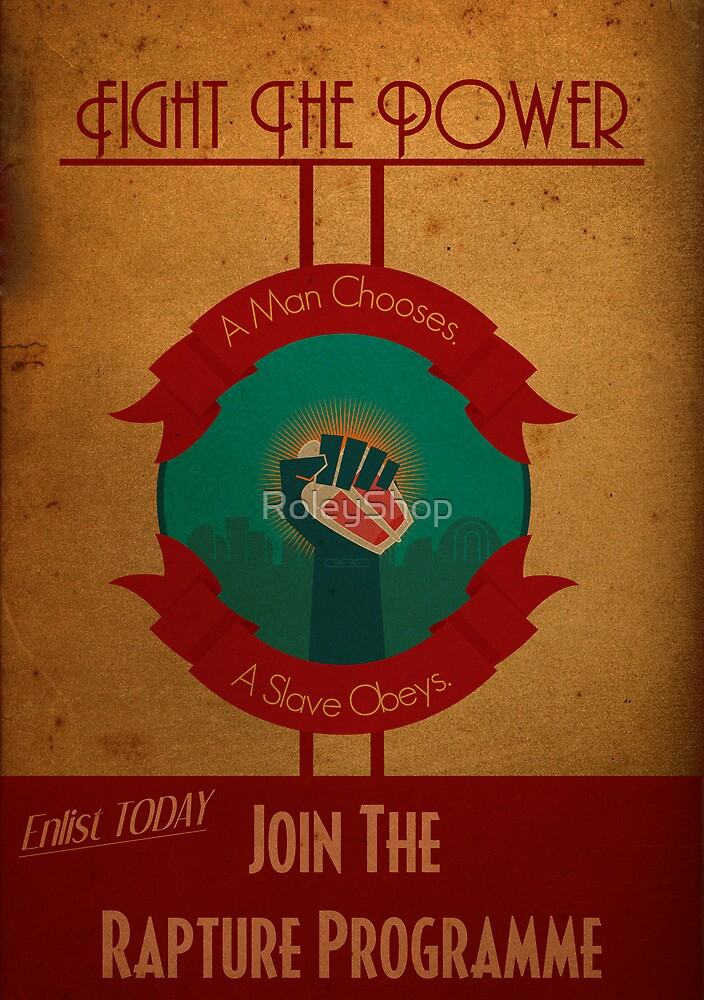 Fight The Power by RoleyShop