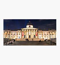 The National Gallery on Trafalgar Square, London Photographic Print
