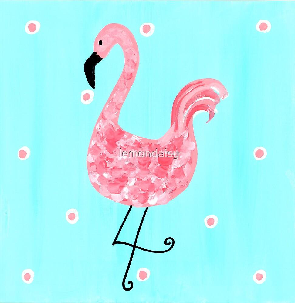 Pink Flamingo by lemondaisy