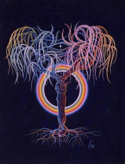 Lovers Tree of Life by Jan Betts