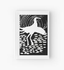 A Flying Crane Hardcover Journal