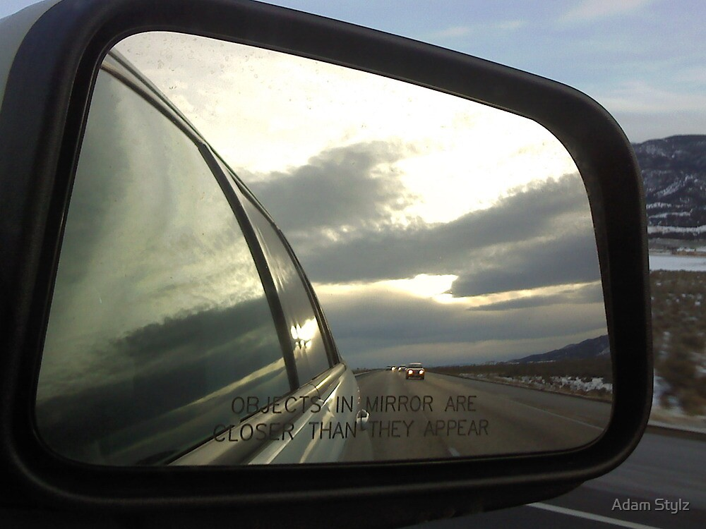 Objects In Mirror by swagerstylz