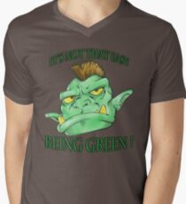 It's not that easy being green! Men's V-Neck T-Shirt
