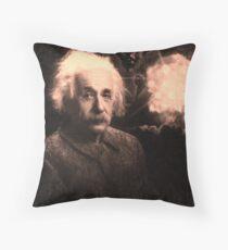 Einstein 2 Throw Pillow
