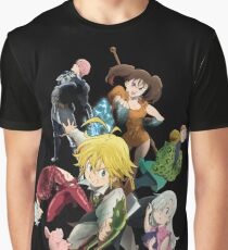 The Seven deadly sins Graphic T-Shirt
