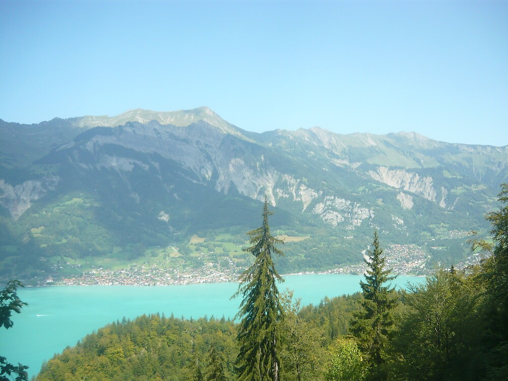 Mountain Lake by James Banks