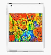 Saturated Flowers iPad Case/Skin