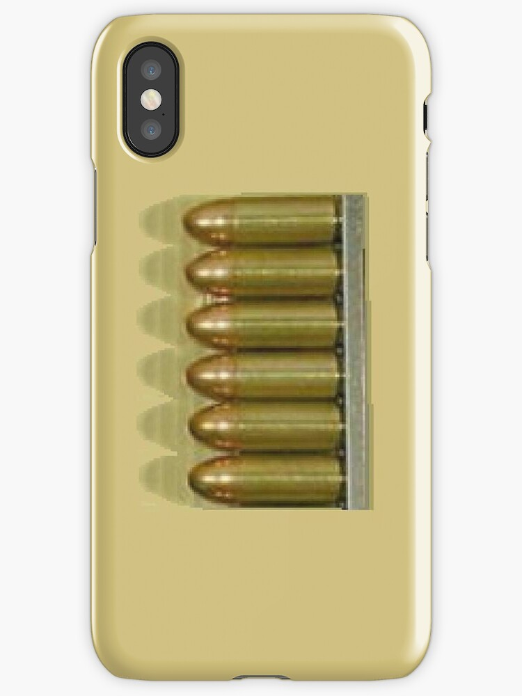 Bullet clip       i phone and print by Radwulf