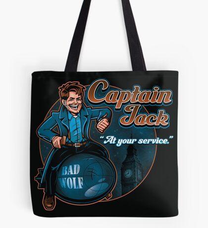 Captain Jack Tote Bag
