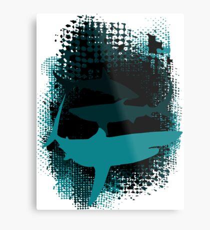 Infested Waters Metal Print