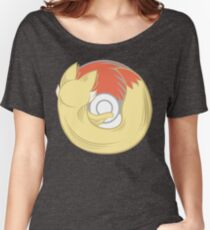 Fire Type Browser Women's Relaxed Fit T-Shirt