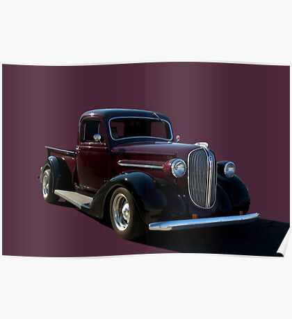 1938 Plymouth Pickup Truck Poster