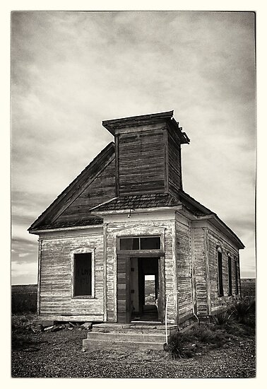 Abandoned church by StephanKolb